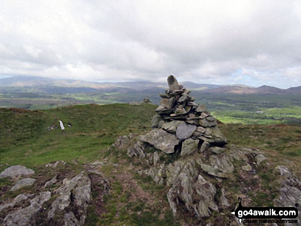 Summit cairn on Blawith Knott