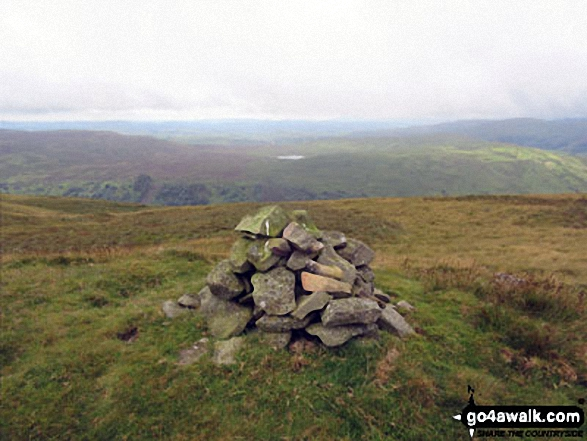 Ancrow Brow (Swinklebank Crag) summit cairn