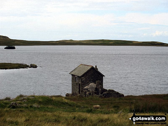 Boathouse on the shore of Devoke Water