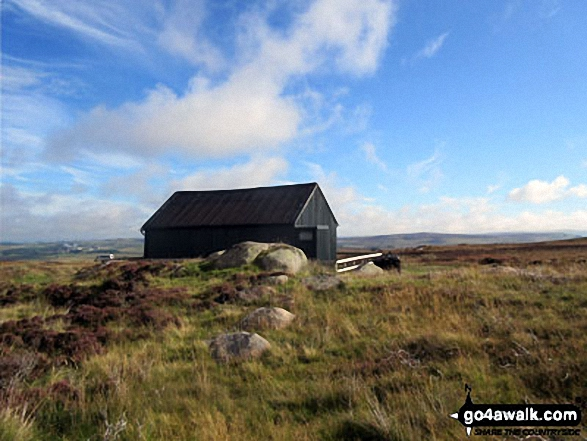 The Lunch House above West Sleddale Reservoir
