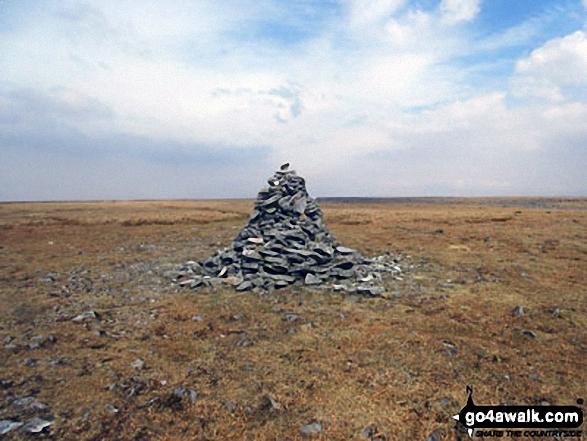 Knock Fell summit cairn