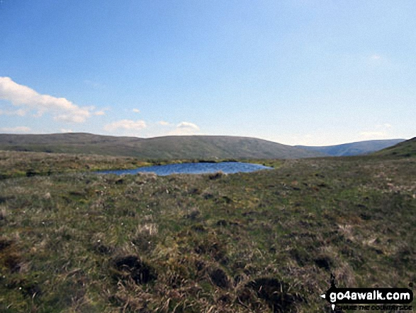 A small tarn near the summit of Howes