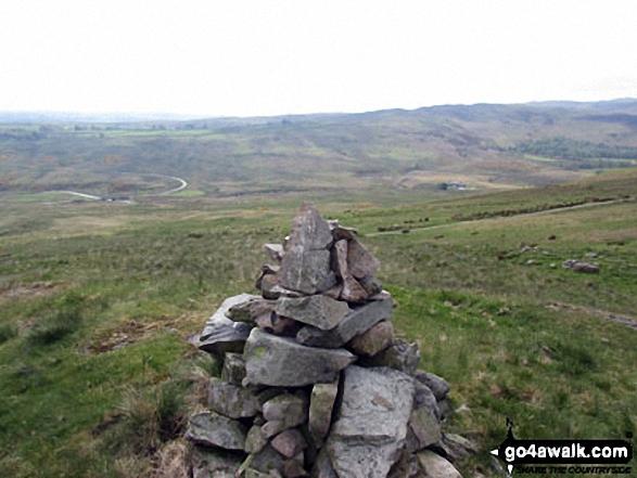 Scalebarrow Knott summit cairn