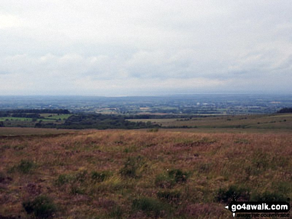 The Solway Firth from Faulds Brow summit