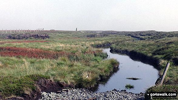 Bogs on the way to Westernhope Moor Summit