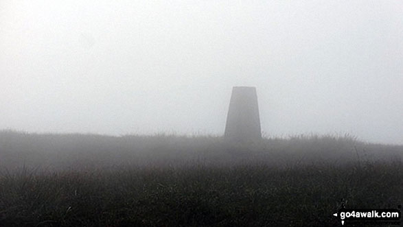 Fendrith Hill Summit Trig Point
