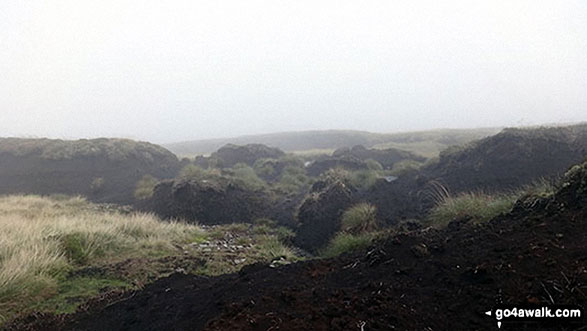 Peat Hags on Chapelfell Top