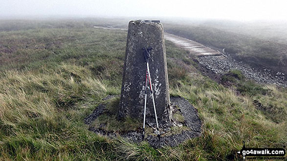 Westernhope Moor Summit Trig Point