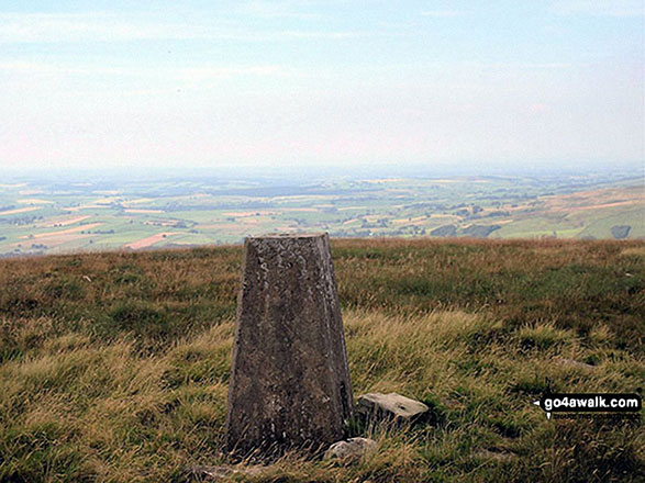 Fiend's Fell Summit Trig Point