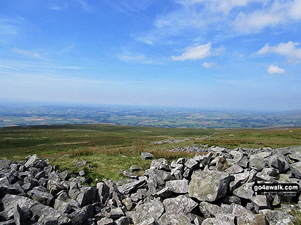 View from Melmerby Fell. Walk route map c430 Cuns Fell, Melmerby Fell and Fiend's Fell from Melmerby photo