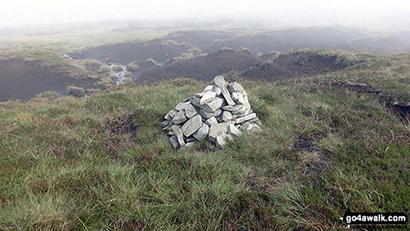 Chapelfell Top summit cairn
