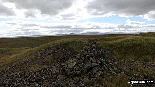 Flinty Fell summit cairn