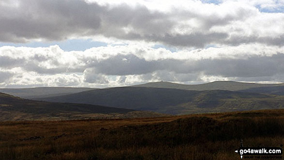 View from Middlehope Moor summit