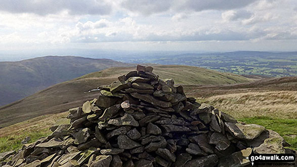 Castle Knott summit cairn