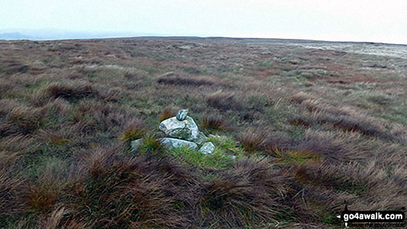 Stoupdale Head summit cairn