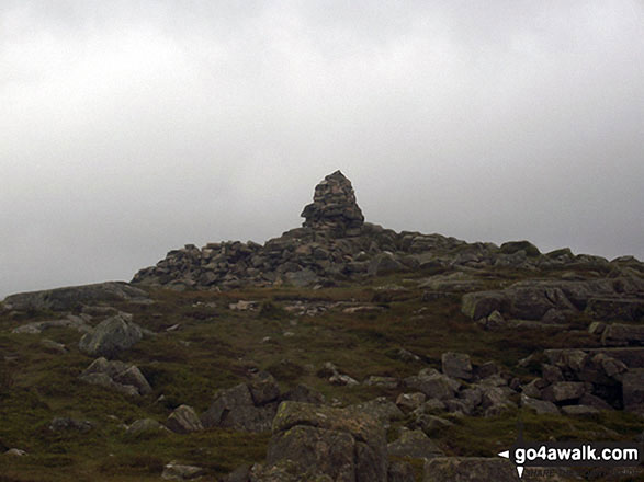 Carrock Fell summit cairn
