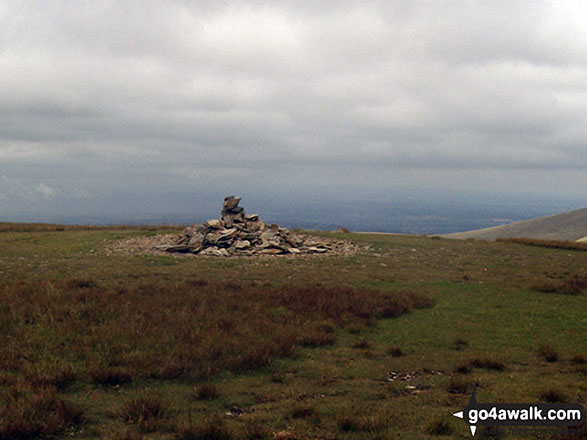 The summit of Knott (Uldale Fells)