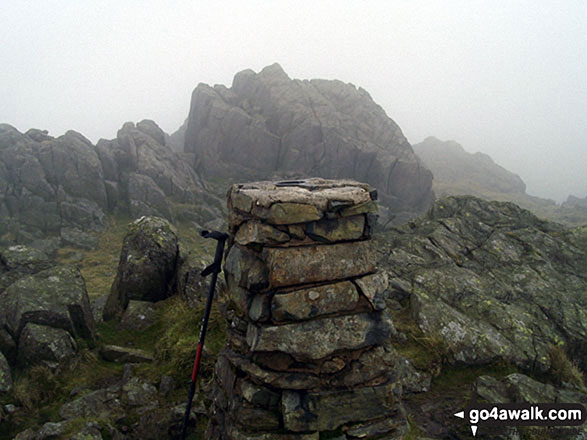 Harter Fell (Eskdale) summit Trig Point