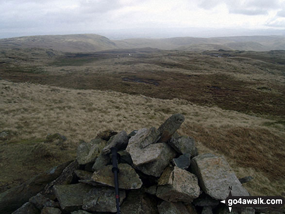 Grey Crag (Sleddale) summit cairn