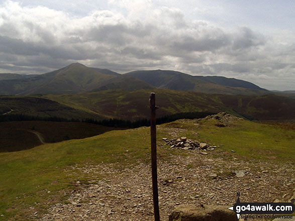 The view from the summit of Lord's Seat (Whinlatter)