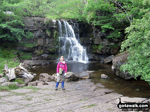 Kidson Force, Keld Walking Wainwright's Coast to Coast Walk 2011