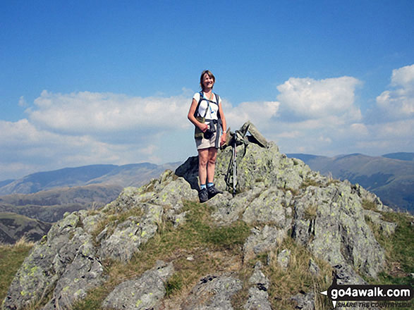 Me on the summit of Blea Rigg
