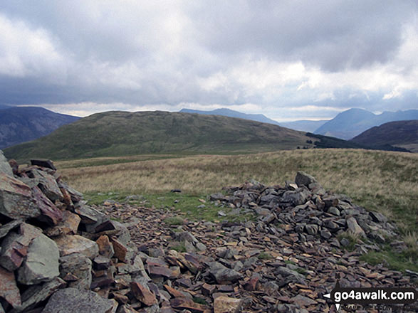 Crag Fell summit cairn
