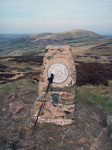 Gowbarrow Fell summit Trig Point