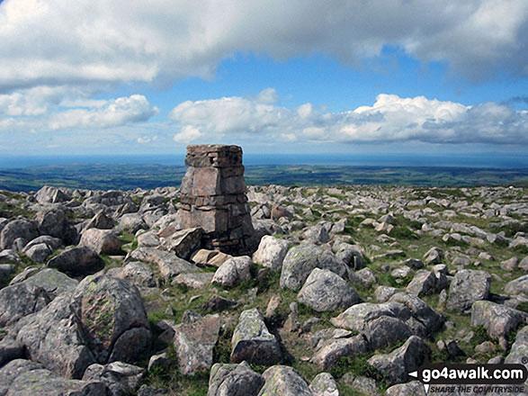 Great Borne summit Trig Point