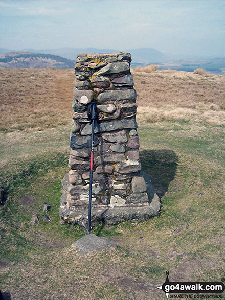Little Mell Fell summit Trig Point