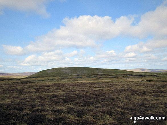 Approaching Bullman Hills
