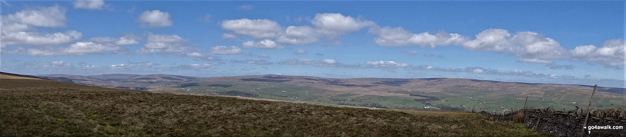 Panorama from Green Fell