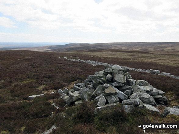Hagworm Hill summit cairn