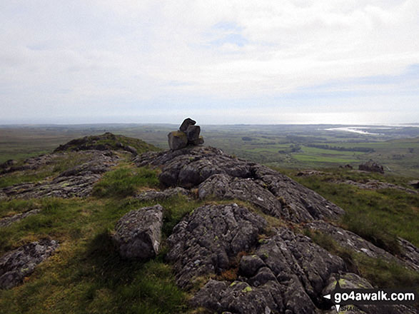 The Knott (Stainton Fell) summit trig point