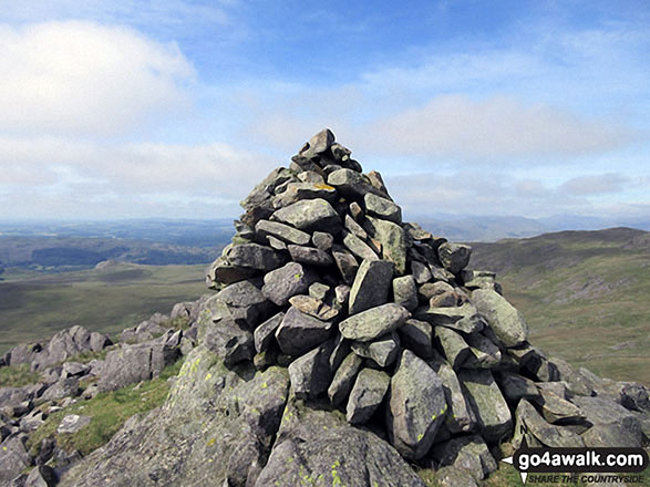 Stainton Fell summit cairn