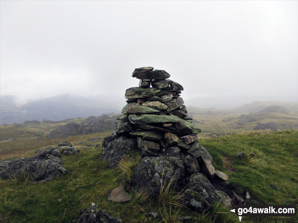 Tarn Hill (Dunnerdale Fells) summit cairn