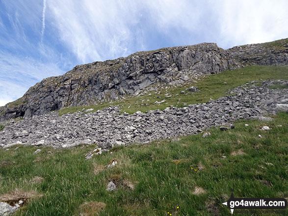Climbing up to Langcliffe Summit