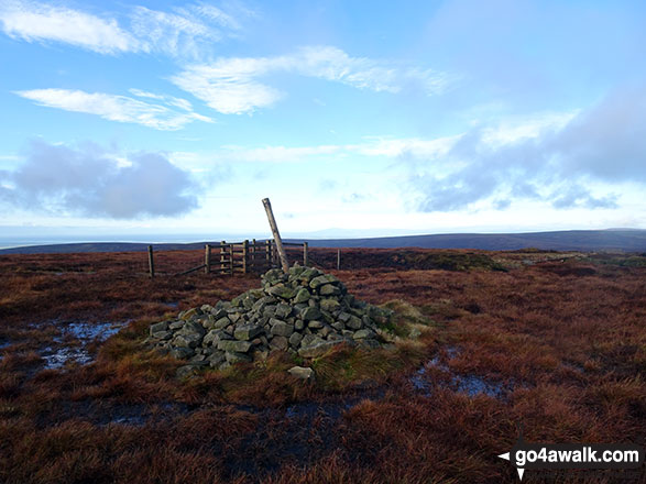 Fair Snape Fell summit cairn