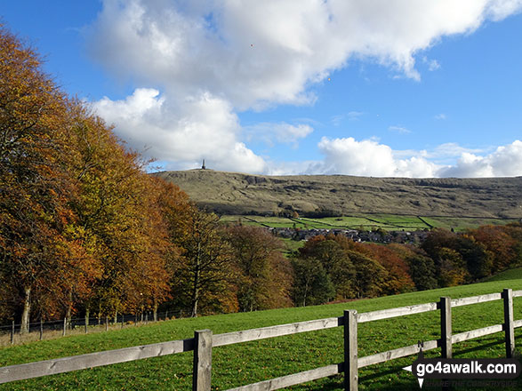 Stoodley Pike from Lobb Mill Picnic Area