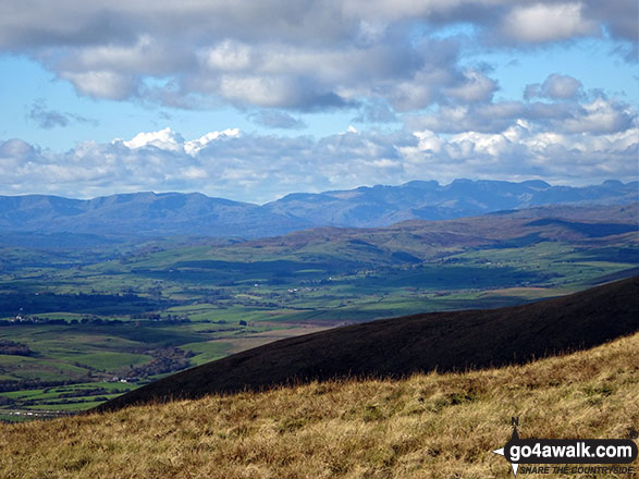 The Lake District from Arant Haw