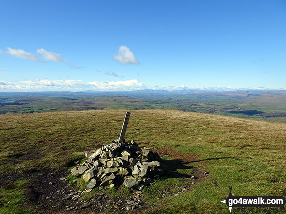 Arant Haw summit cairn
