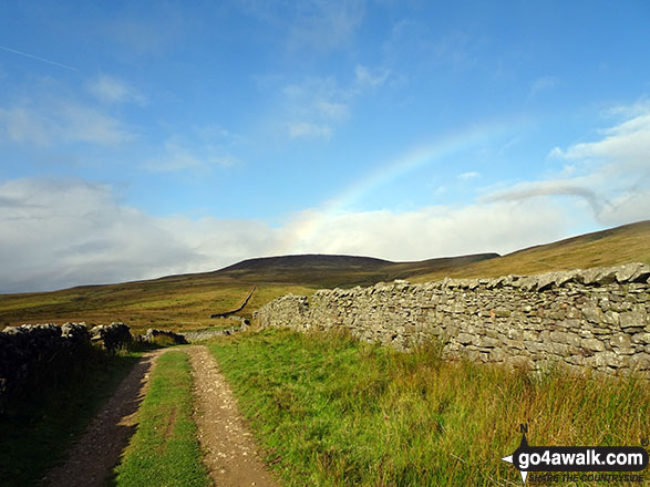 Rainbow over Little Whernside
