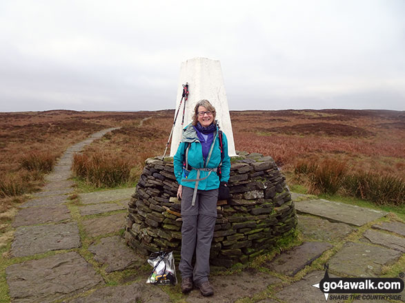 On the summit of Black Hill (Soldier's Lump)