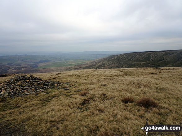 The view from the summit of Black Hill (Soldier's Lump)