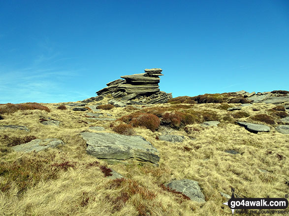 Rocks on Fairbrook Naze (Kinder Scout)