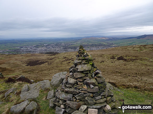 Memorial Cairn on Skipton Moor