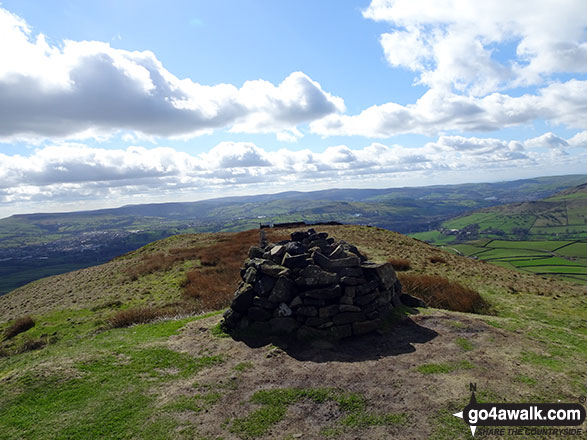 South Head (Hayfield) summit cairn