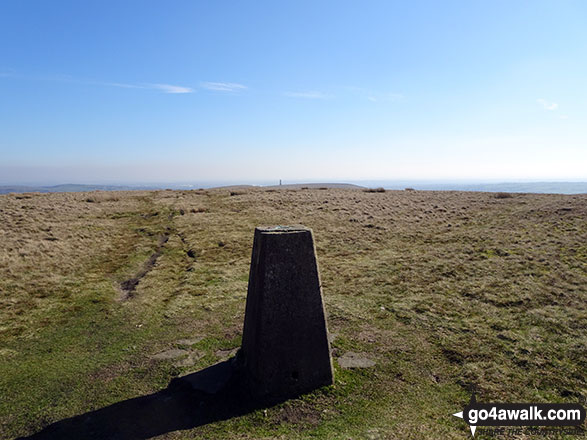 Peel Tower from the Trig Point on the summit of Bull Hill (Holcombe Moor)