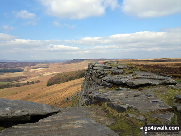 Looking towards High Neb (Stanage Edge) from Stanage Edge (Stanage Edge)