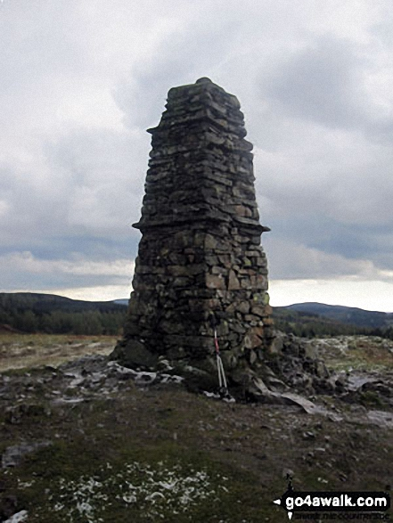 Latterbarrow summit